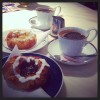 La danish pastry del The Royal Smushi Café (Copenhagen)