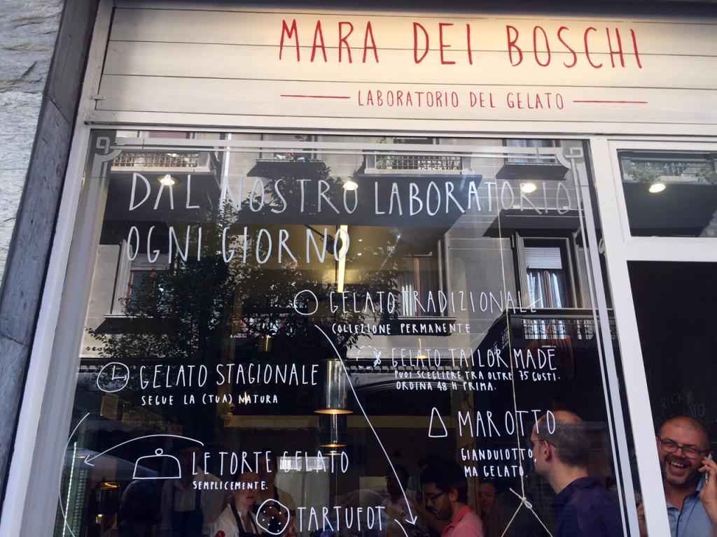 Il gelato al pistacchio di Mara dei Boschi (Torino)
