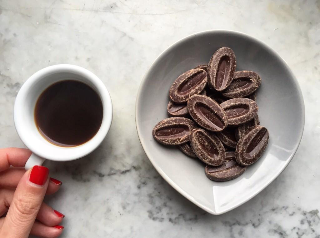 Valrhona e caffè